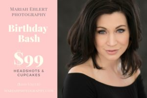 Come celebrate, have a cupcake, network with others, and get a great headshot